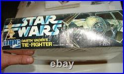 Star Wars original DARTH VADER TIE FIGHTER model kit sealed cello 1-1913 D62