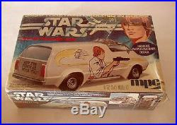 Star Wars original Luke skywalker Van model kit sealed cello RARE vintage 70's
