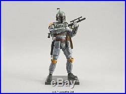 Star wars Boba Fett 1/12 Scale Plastic Model Kit Figure Bandai Japan Import