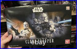 Star wars bandai model kit Clone Trooper