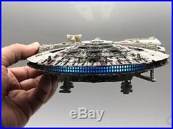 Star wars bandai model kit built professionally