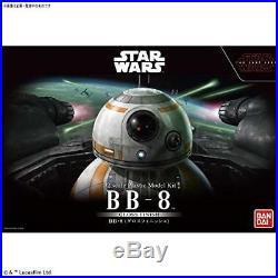 Star wars bb-8 GLOSS finish 1/2 model kit bandai new Express Mail Japan