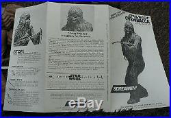 Starwars Chewbacca 1/4 Soft Vinyl Model Kit Screamin USA
