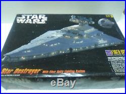 Starwars Star Wars Big Model Kit Star Destroyer Fiber Optic Rare & Exclusive
