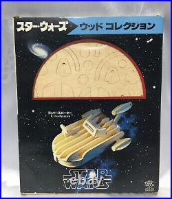 TAKARA Wood Collection Landspeeder vintage Model Kit Star Wars Japanese toy MIB