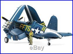 Tamiya 60327 1/32 Aircraft Model Kit WWII Vought F4U-1D Corsair Mk II withPE Parts