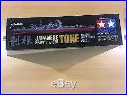 Tamiya Models IJN Tone Heavy Cruiser Model Kit