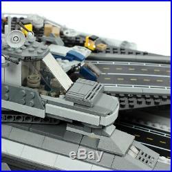 The SHIELD Helicarrier Model Building Kits Blocks Bricks Boy Toys Movie 07043