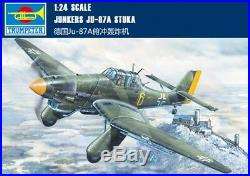 Trumpeter 1/24 02420 Junkers Ju-87A Stuka Model Kit