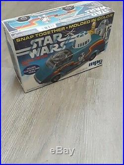 Vintage 1977 Star Wars MPC Model Kit Artoo-Detoo Van R2D2 Rare