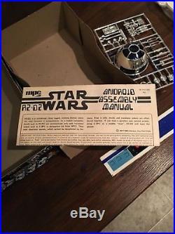 Vintage 1977 Unused Star Wars R2D2 MPC Authentic Model Kit