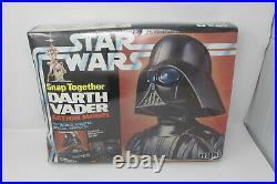 Vintage 1978 STAR WARS Darth Vader Snap-Together Model Kit, Factory Sealed MIB