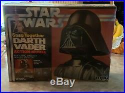 Vintage 1978 Star Wars Darth Vader Snap-together Model Kit New Factory Sealed