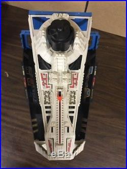 Vintage 1980 Star Wars ESB Darth Vader Star Destroyer Playset WORKS