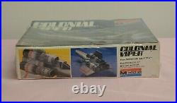 Vintage Battlestar Galactica Colonial Viper Monogram Model Kit New and Sealed