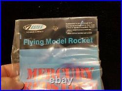 Vintage ESTES model rocket Mercury Redstone #1921 Old Stock