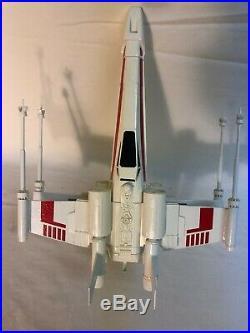 Vintage Estes #1298 X-WING FIGHTER Flying Model Rocket Built / Never Launched
