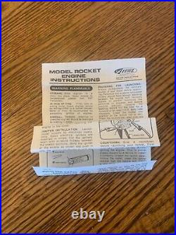Vintage Estes Firing Line Model Rocket Launch System Kit # 0702-595 Looks Unused