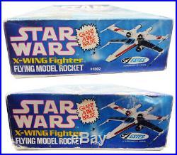 Vintage MAXI-BRUTE Star Wars X-Wing FIGHTER Flying Model ROCKET (1977) #1302