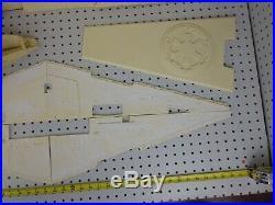 Vintage Randy Cooper STAR WARS 1/1500 40 Imperial Star Destroyer Resin Model