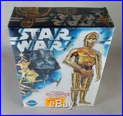 Vintage Star Wars C-3PO Model Kit Kenner 1977