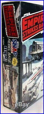 Vintage Star Wars ESB Rebel Base MPC Scale Model Kit // MISB C-9