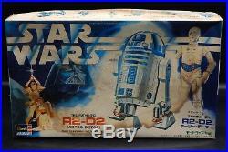 Vintage Star Wars R2-D2 Revell TAKARA model kit Japan RARE horizontal box art