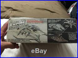 Vtg FACTORY SEALED 1980 STAR WARS Luke Skywalker SNOWSPEEDER Scale Model Kit NIB