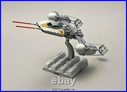 Y-Wing Star Fighter Starfighterin Star Wars 1/72 scale Plastic Model Kit